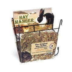 Pets International Hay Manger With Salt Hanger - 100079402