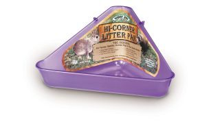 Pets International Ferret Hi Corner Litter Pan - 100079480