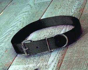 Hamilton Halter Company 1-3 4 D T Calf Collar Black 36 Inch - DCC 36BK