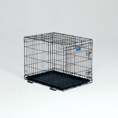 Midwest Container Lifestages Crate W Dvdr Panel 30x21x24 Inch - 1630