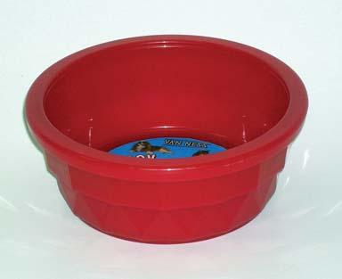 Van Ness Plastic Molding Crock Dish Clear Medium - CS-300