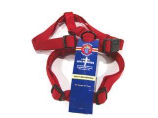 Hamilton Adjustable Comfort Dog Harness Red 1 X30-40 - CFA