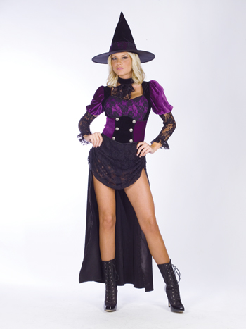 Costumes For All Occasions FW121394SD Witch Burlesque sm Medium