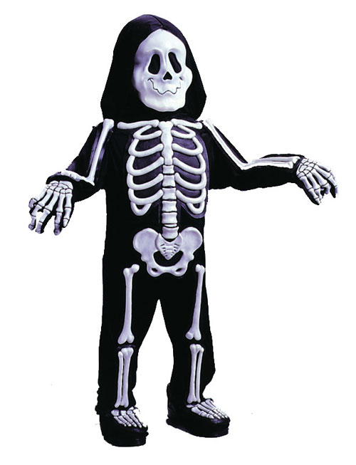 Costumes For All Occasions FW1522 Skelebones Toddler 4 To 6