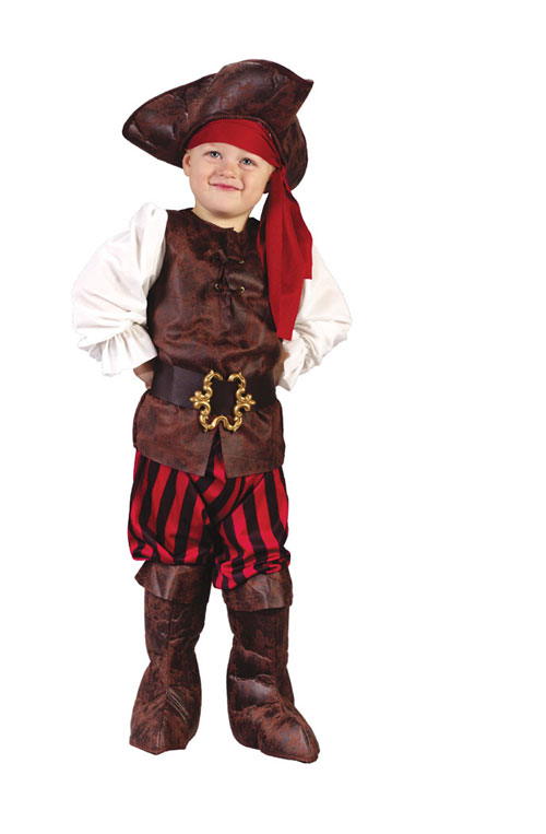 Costumes For All Occasions FW1555 High Seas Pirate Toddler Boy