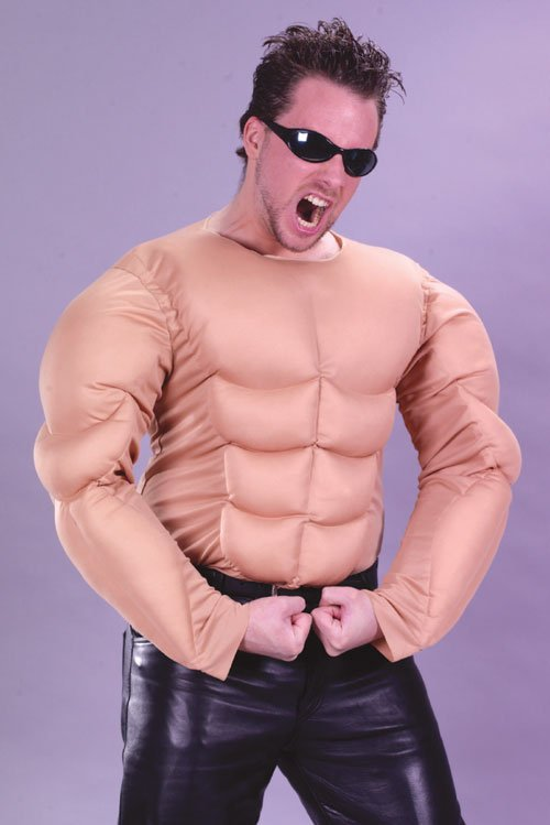 Costumes For All Occasions FW5052 Muscle Man Shirt