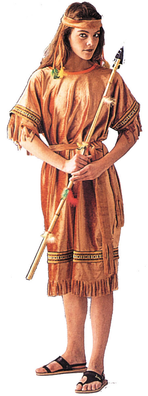 Costumes For All Occasions AA99 Native American Maiden