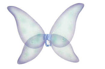 Costumes For All Occasions FW8100FPR Wings Fairy Prpl Blu Grn