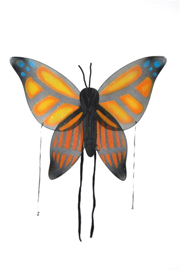 Costumes For All Occasions FW8111BOR Wings Child Butterfly Orange