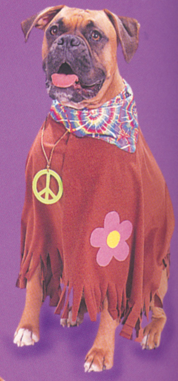 Costumes For All Occasions FW8116HP Pet Costume Hippie