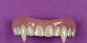 Costumes For All Occasions FW8987V Teeth Veneer Vampire