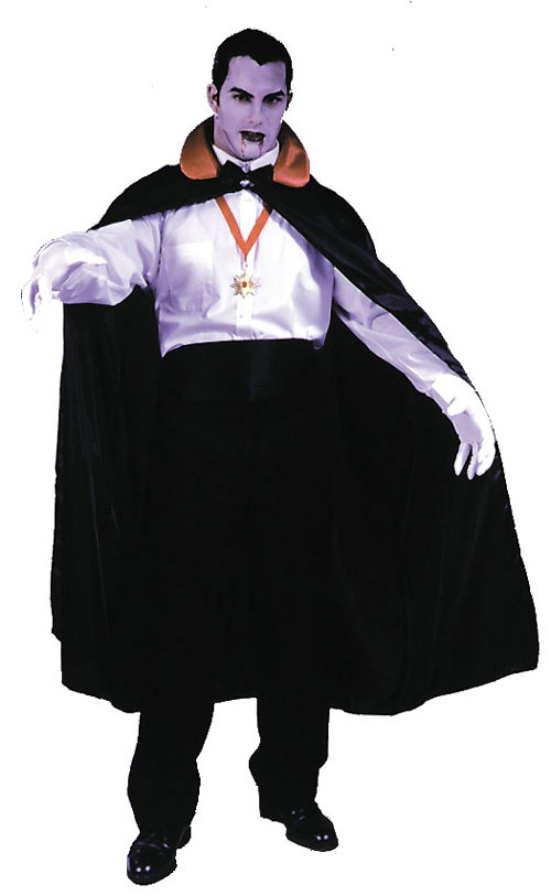 Costumes For All Occasions FW9059 Count Cape 56In Black