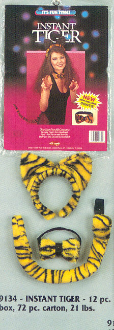 Costumes For All Occasions FW9134 Tiger Instant Adult