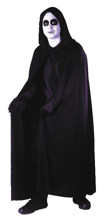 Costumes For All Occasions FW9159WT Cape 74 Inch Hooded White