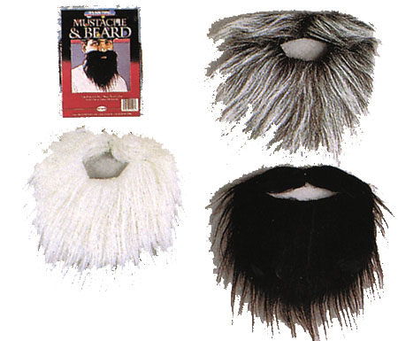 Costumes For All Occasions FW9265 Mustache and Beard 24 Pc Asst