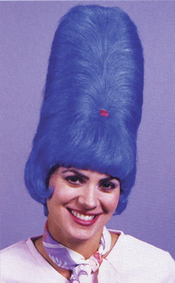 Costumes For All Occasions FW9269BU Bee Hive Wig Blue