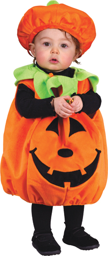 Costumes For All Occasions FW9649 Pumpkin Plush To 24 Months