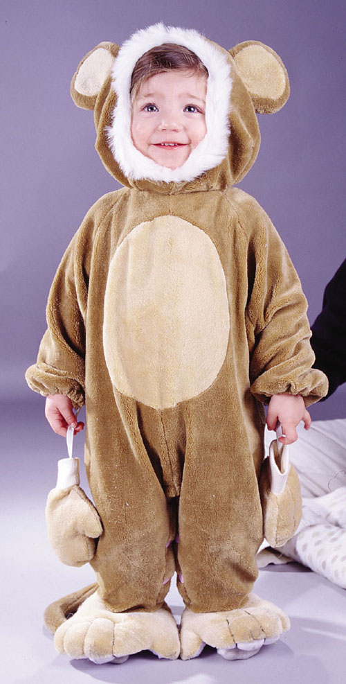 Costumes For All Occasions FW9684M Cuddly Monkey Todlr 6 12 Mo