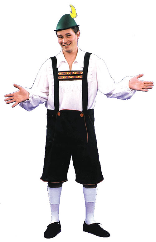 Costumes For All Occasions AC154LG Lederhosen Large