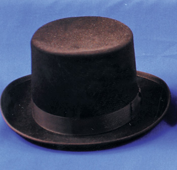 Costumes For All Occasions GA04BNLG Top Hat Felt Qual Brown Lrg