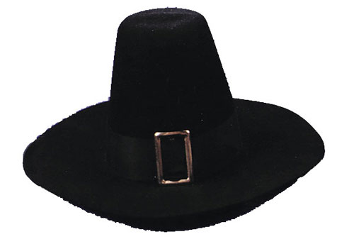 Costumes For All Occasions GA16LG Puritan Hat Qual Large
