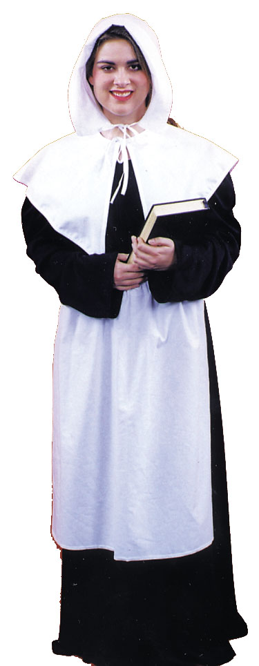 Costumes For All Occasions AC208LG Pilgrim Lady Large
