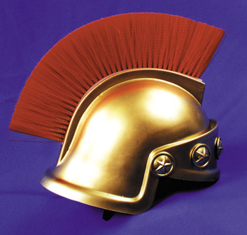 Costumes For All Occasions GC60 Spartan Helmet Gold Only
