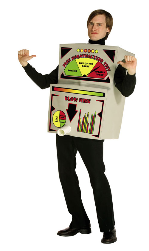 Costumes For All Occasions GC6984 Breathalyzer Costume