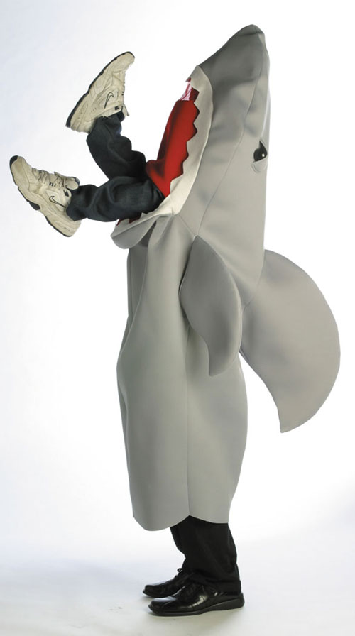 Costumes For All Occasions GC7136 Shark Man Eating