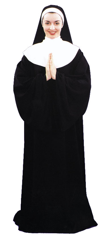 Costumes For All Occasions AC45 Nun 1 Size