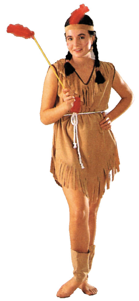 Costumes For All Occasions AC80 Native American Lady