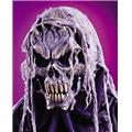 Costumes For All Occasions FW8517 Gauze Skull Mask 2