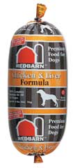 Redbarn Premium Pet Products Roll Food Chicken 2 Pounds - 10204C