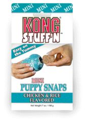 KONG Co. 269361 Puppy Snaps Mini - XY3