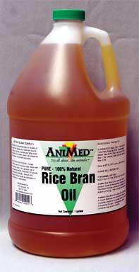 Durvet Animed Rice Bran Oil 1 Gallon - 90422