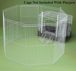 Ware Clean Living Playpen White - 02072