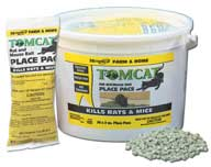 Durvet Motomco Tomcat Rat And Mouse Bait Plac 3 Ounce - 32360