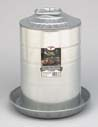 Miller Galvanized Double Wall Fountai 3 Gallon - 9833