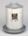 Miller Galvanized Double Wall Fountai 3 Gallon - 9833