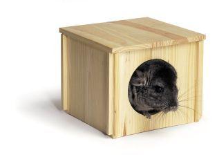 Pets International Natural Chinchilla Hut - 100079175