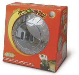 Pets International Mega Run About Ball Clear 13 Inch - 100079360