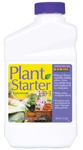 Bonide Products Plant Starter Solution 1 Quart - 161