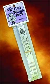 Coburn Company Hog Weigh Tape 60 Inch - 22511