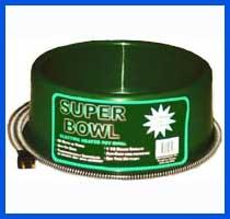 Farm Innovators Round Heated Pet Bowl - 60 Watt - Green