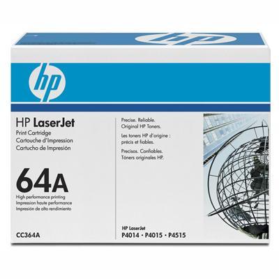 HP Consumables CC364A LaserJet CC364A Black Print