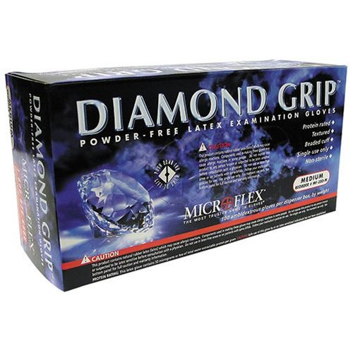 MICROFLEX MF300L Diamond Grip Textured Glove L
