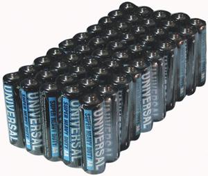 UPGI D5322/D5922 Super Heavy-Duty Battery Value Box (AA 50-pk)