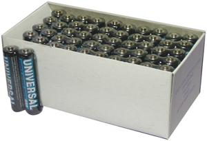 UPGI D5323/D5923 Super Heavy-Duty Battery Value Box (AAA 50-pk)