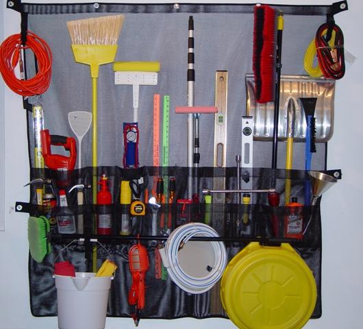 Functional Fabrics  Inc. GO-047-Garage Organizer