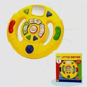 Megcos 1194 Interactive Steering Wheel Exciting Toy